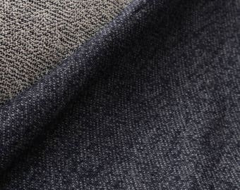 French Terry- Navy Heather
