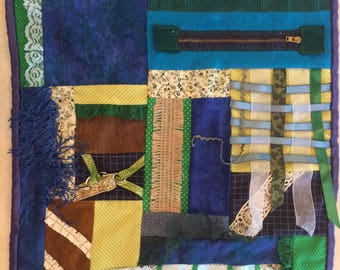 Fidget Quilt / Sensory Blanket - In the Marshes