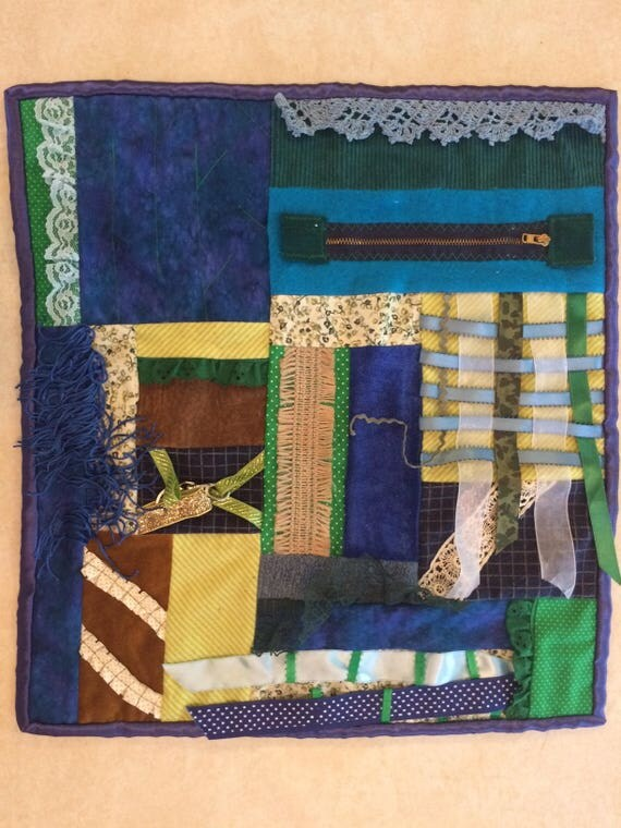 Fidget Quilt / Sensory Blanket - In the Marshes