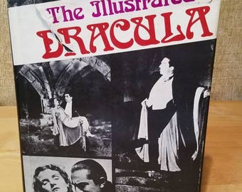 The Illustrated Dracula 1975 /  184 pages / Legend / Vampire / Bram Stoker