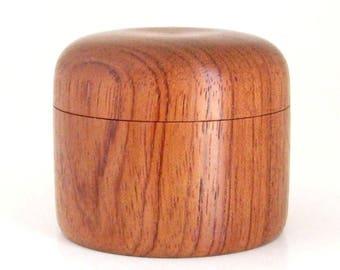 Wooden Keepsake Box Handcrafted in Bubinga