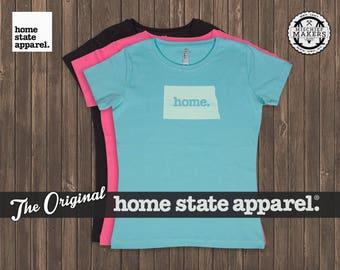 North Dakota Home. T-shirt- Women's Relaxed Fit