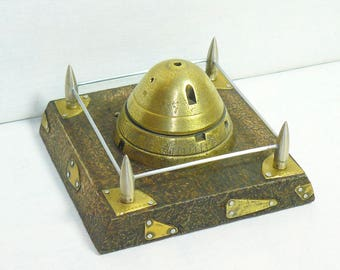 Trench Art Military Metal WW1 Relic Artillery Fuze Paperweight