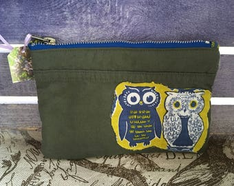Blue Owls Flightsuit Pickwick bag