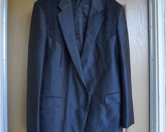 Wester mens jacket by Circle S Dallas Texas size Large 48 sports coat