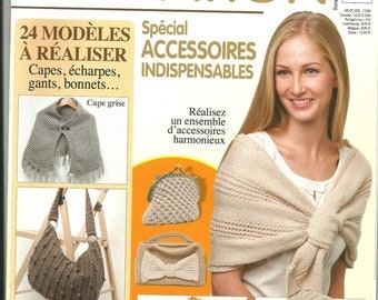 Catalog creation 24 knitting patterns No. 5 new special accessories