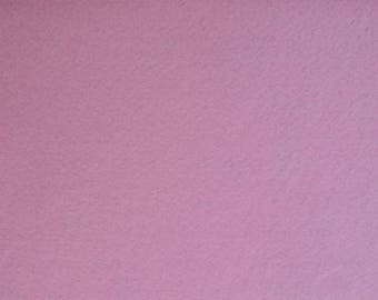 Felt 1.5 mm light pink colour A4 size sheet