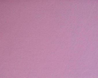Felt 1.5 mm light pink colour A4 size sheet