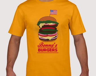 Burgers T-Shirt (kids and adults sizes)