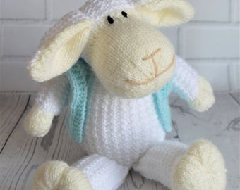 KNITTING PATTERN - Mouton the Sheep Knitting Pattern Download from Knitting by Post