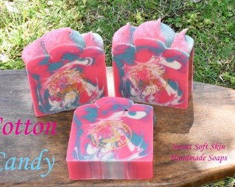 Cotton Candy Soap Bars