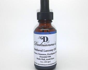Medieval Larceny Oil 1oz. dropper bottle