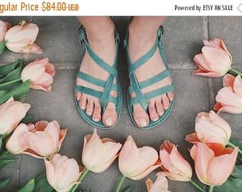 SALE 25% OFF: Greek Sandals, Gladiator Sandals, Leather Sandals, Gladiator Sandals Women, Handmade Sandals, Summer Sandals, Turquoise sandal