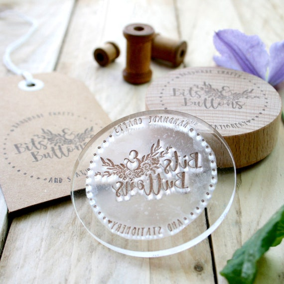 Maker's marks - Custom Potters Stamps - Made to Order Stamp - Custom Order Stamp - Hard Stamps - Logo Design - Gift For Him - Gift For Her