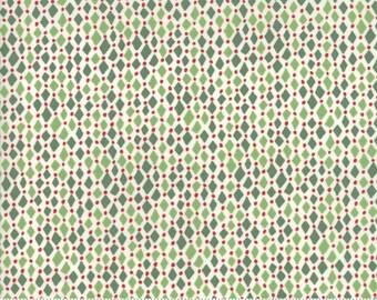 Merry Merry - Diamonds Spruce by Kate Spain for Moda, 1/2 yard, 27278 11