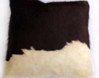 Natural Cowhide Luxurious Hair On Cushion/ Pillow Cover (15''x 15'') A33