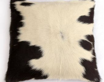 Natural Cowhide Luxurious Hair On Cushion/ Pillow Cover (15''x 15'') A92