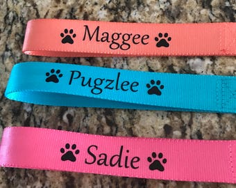 Personalized dog leash High quality heavy duty