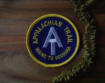 Appalachian Trail Travel Patch - Maine to Georgia