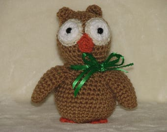 Ollie the Crocheted Owl - a Very Wise Gift
