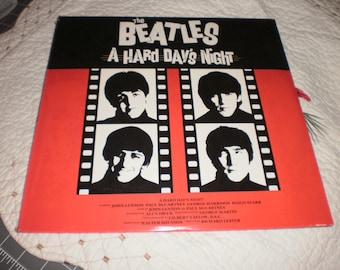 The Beatles A Hard Days Night sealed Laserdisc