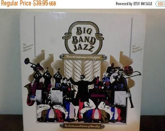 Save 30% Today Vintage 1983 Vinyl LP Record Set Big Band Jazz From the Beginning to the Fifties 6 LP Set Near Mint Condition 13599