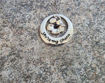 You're my Ohana Necklace!