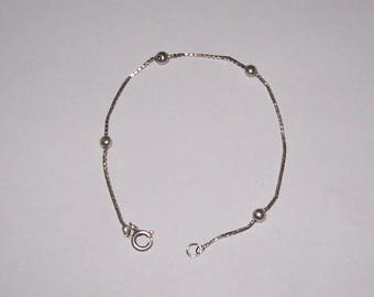 Vintage Norway 925 Silver Bracelet A.Holthe Arendal