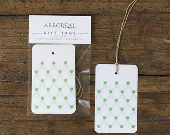 Green Polka Dot Gift Tags (original retail 6.50)