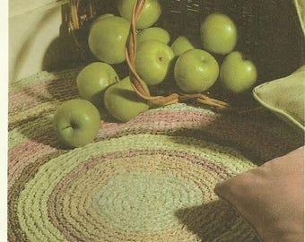 Retrocon Sale - Home Furnishings - Rag Rug beginner easy crochet pattern download