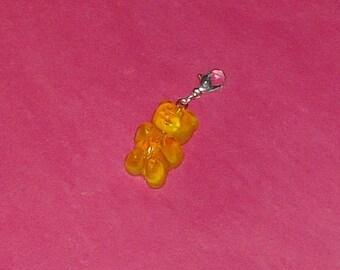 "1 ""Yellow bear"" 25mm resin Charms"