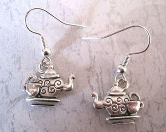 Teapot and Cup earrings