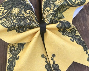 Cheer Bow - Lace
