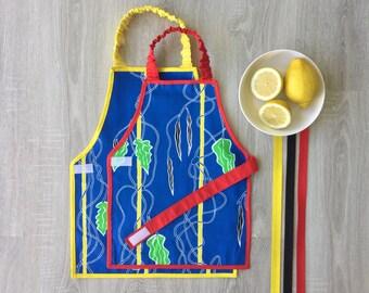 1-6 Varias tallas delantal Montessori niño/niña - ¡El regalo ideal! El mejor delantal Montessori