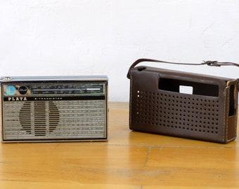 Plata Radio, Old Radiophone, Transistor Radio, Boombox, Radio Case, Radio Tuner, Portable Radio, Radio Player, Radio Receiver, Radio Gift