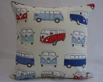 Pillow - Camper Van design feature cushion, complete with cushion pad, zip fastening