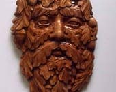Greenman Wood Wall Art - ...