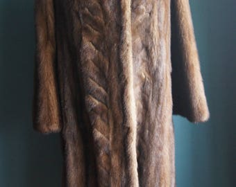 Luxury Mink coat  Real fur coat