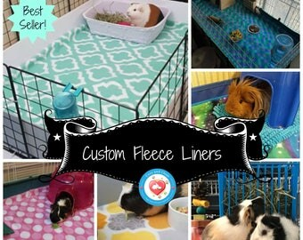 Fleece Cage Liners, Guinea pig cage liner | Absorbent Fleece Liners | Guinea pig fleece liner | Fleece bedding, Custom Liners #LivingTheLife