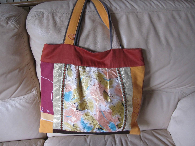 sac fourre tout sac de plage sac cabas multicolore. Black Bedroom Furniture Sets. Home Design Ideas