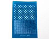 Polka Dots PAttern Silk Screen