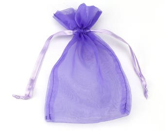 5x6.5in Organza Sheer Pouch. Great for gift giving!  Other sizes and colors available!  (Pack of 48) (SP17-xx)