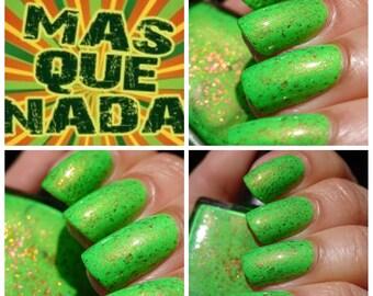 Mas Que Nada~BeachClub Summer Collection Neon Green Crelly 10ML