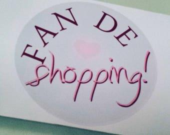 Board of transfers iron ☆ ☆ customization idea Shopping Fan, customization