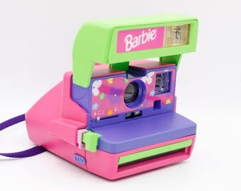 Polaroid Camera // Barbie Limited Edition 600 // Film Tested // Working
