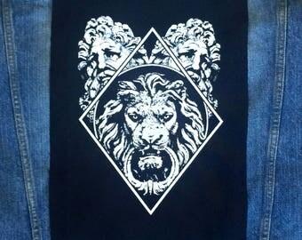 Lion's emperor Back Patch | Patches | Punk Patches