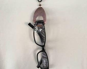 Women's eyeglass chain - Teardrop - eyeglass holder -  Copper necklace - Women's jewelry - eyeglass necklace