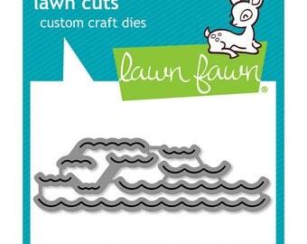 Lawn Fawn - Lawn Cuts - Dies - Ocean Wave Accents