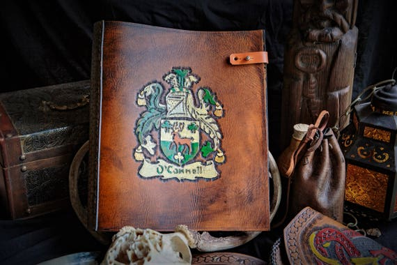 Custom Family Crest Binder / Photo Album