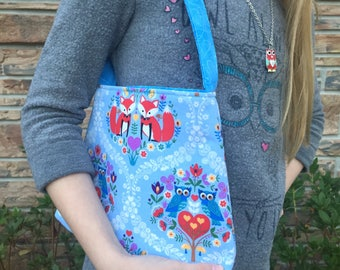 Girls easter gift etsy girls purse and wallet set toddler purse and coin purse set owls and foxes negle Gallery